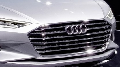 Audis neues Markengesicht Prologue