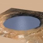 Marsrover Curiosity: Flüsse türmten einen Marsberg auf
