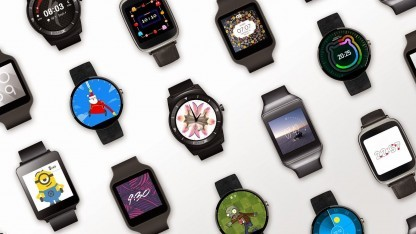 Android Wear mit Zifferblatt-API