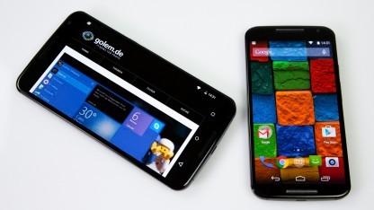 Motorola konnte dank Geräten wie dem Nexus 6 und dem Moto X stark zulegen.