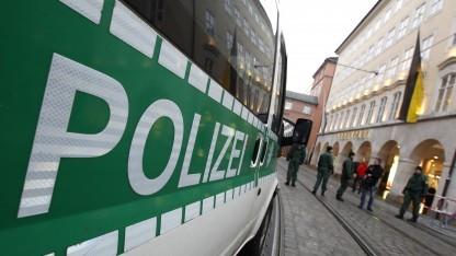 Polizei in München bei einem anderen Einsatz