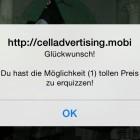 Pop-up-Spam: Vodafone stoppt Abzockversuch