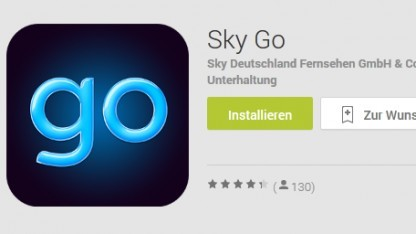 Sky Go für Android im Play Store