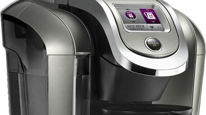 Die Kaffeemaschine Keurig 2.0 hat eine Sperre. Sie wurde inzwischen ausgehebelt.