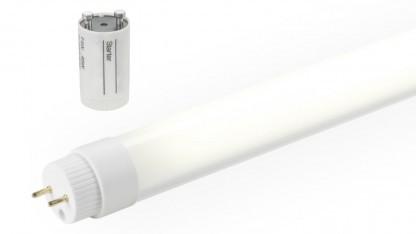 Toshibas neue LED-Röhren erreichen zum Teil deutlich mehr als 100 Lumen pro Watt.