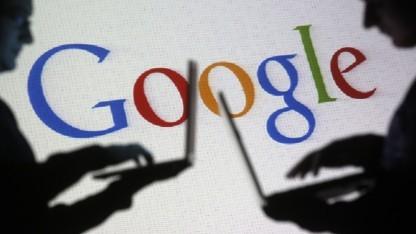 Google-Logo mit Nutzern