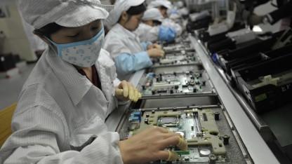 Bei einem chinesischen Apple-Zulieferer wurden Missstände aufgedeckt.