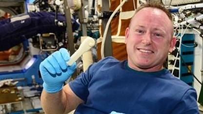 ISS-Astronauten drucken sich ihr Werkzeug selbst aus.
