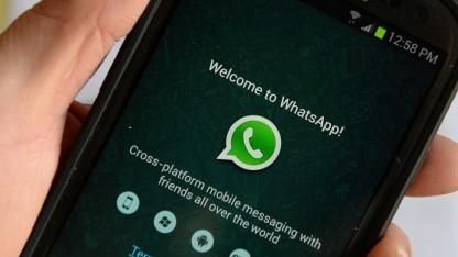 Whatsapp auf einem Samsung-Smartphone