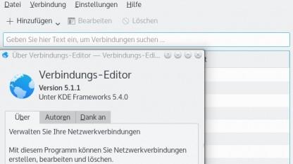 Auf den Network Manager greifen verschiedene Client-Bibliotheken zu.