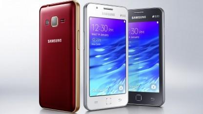 Samsung Z ist das erste Tizen-Smartphone.