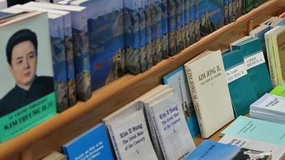 Mehrere Stunden lang mussten ausgewählte Nordkoreaner ihre Informationen wieder in Büchern lesen, weil das Internet ausgefallen war.