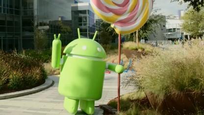 Die meisten Smartphones warten noch auf die Verteilung von Lollipop.