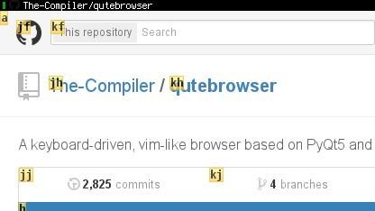 Ein neuer Browser legt den Fokus auf die Tastaturbedienung.