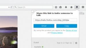 Firefox Hello wird nur langsam an Nutzer ausgerollt.