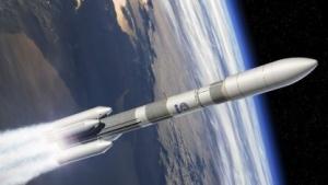 Konzept der europäischen Trägerakete Ariane 6 (Bild: L. Boyer/Esa/CNES/Arianespace), Rakete