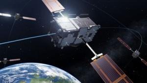 Galileo-Satellit: mehrere Dienste  (Bild: P. Carril/Esa), Galileo-Navigationssystem