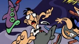 Artwork von Day of the Tentacle