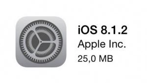 iOS 8.1.2 als OTA-Update