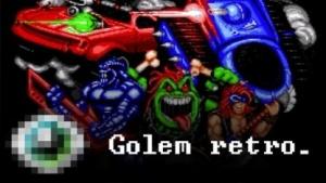 Startbildschirm von Rock n' Roll Racing