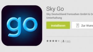 Sky Go für Android im Play Store