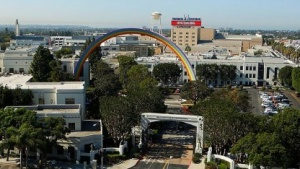 Studiogelände von Sony Pictures in Culver City (bei Los Angeles)