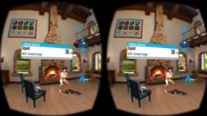 Kniebeugen mit virtuellem Model