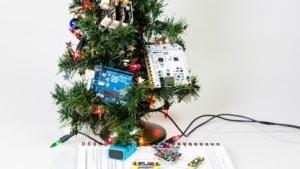 Büro-Weihnachtsbaum