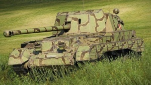 Panzer aus World of Tanks 9.5