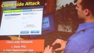 Die US-Forscher sehen Möglichkeiten, das estnische E-Voting-System zu hacken.