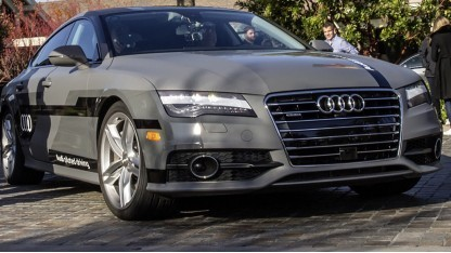 Audi A7 mit Technik zum pilotierten Fahren