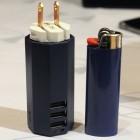 Zolt: 85-Gramm-Netzteil für Notebook und zwei USB-Geräte