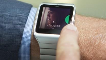 Smartwatch 3 im Edelstahlgehäuse