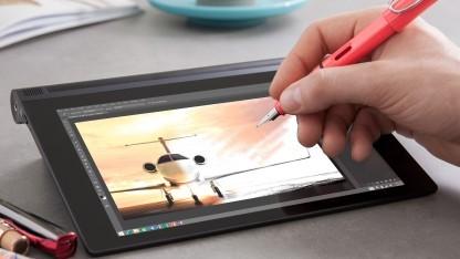 Lenovo Anypen Auf Dem Touchscreen Mit Beliebigem Stift Schreiben Golem De