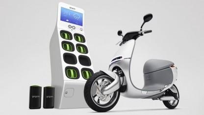 Elektroroller Smartscooter: Akkuwechsel in sechs Sekunden