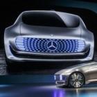 Mercedes F 015 - Luxury in Motion: Lagerfeuerromantik im selbstfahrenden Mercedes