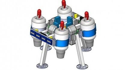 Drohne Jetquad: Testgerät für Mondlandungen