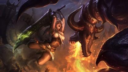 Artwork von League of Legends