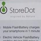 Storedot: Das Minuten-Ladegerät für Smartphones nimmt Gestalt an