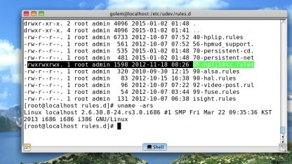 Eine fehlerhafte Rechtevergabe in Red Star OS 3.0 kann dazu genutzt werden, Root-Rechte zu erlangen.