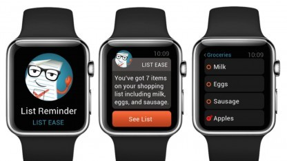 Marsh-App auf der Apple Watch