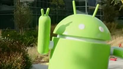 Android-Maskottchen: Smartphones in Asien haben selten Google-Dienste.