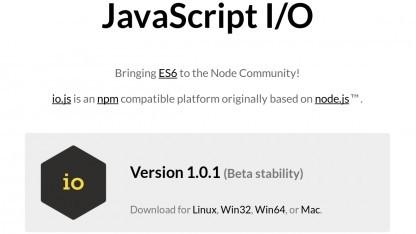 Io.js 1.0 steht zum Download bereit.