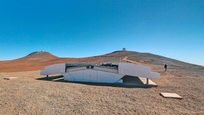 NGTS in der Atacamawüste im Norden Chiles