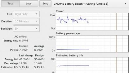 Gnome-Battery-Bench soll präzise Messungen der Leistungsaufnahme unter Linux ermöglichen.