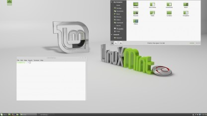Linux Mint in der Debian Edition mit dem Desktop Cinnamon