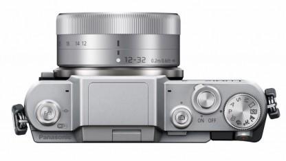 Mit dem richtigen Objektiv ist die GF7 von Panasonic jackentaschentauglich.