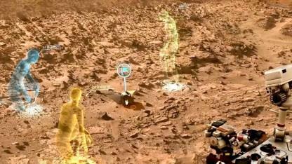 Onsight: So stellt sich die Nasa eine virtuelle 3D-Ansicht des Mars vor.