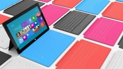 Das erste Surface RT läuft mit Windows RT.