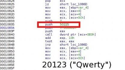 Das Qwerty-Keylogger-Modul von Regin
